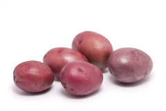 Red Skinned Potatoes Royalty Free Stock Photos