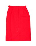Red skirt Royalty Free Stock Photos