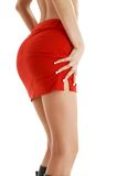 Red skirt #2 Royalty Free Stock Image