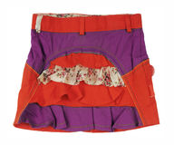 Red skirt Royalty Free Stock Photo