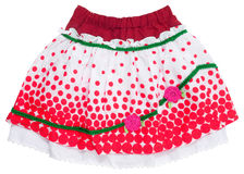 red skirt Stock Photos