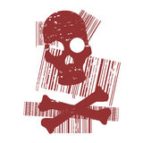 Red skull Stock Photos