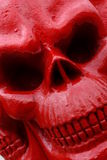Red skull Stock Photo