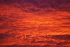 red sky στοκ εικόνα με δικαίωμα ελεύθερης χρήσης