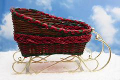 Red Sleigh Royalty Free Stock Photo