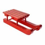 Red sleigh Stock Photos