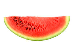 Only red slice of ripe watermelon Royalty Free Stock Photo