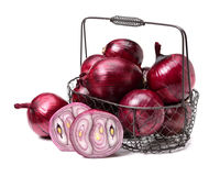 Free Red Sliced Onion Royalty Free Stock Images - 65888499
