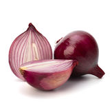 Red sliced onion Royalty Free Stock Images