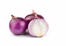 Red sliced onion. Royalty Free Stock Photo