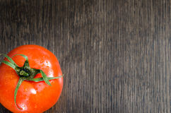 Red sliced tomato Stock Photography