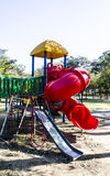 Red slide Royalty Free Stock Photography