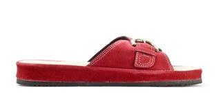 Red slipper Stock Image