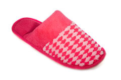 Red slipper Royalty Free Stock Photos