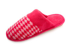 Red slipper Royalty Free Stock Image