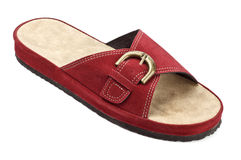 Red slipper Stock Photography