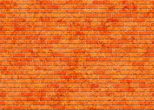 Red small brick wall background royalty free stock photo