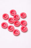 Red small buttons. Red small clasic buttons Royalty Free Stock Photography