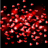 Red small heart Stock Images