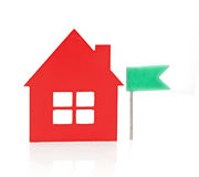 Red small house Royalty Free Stock Photography