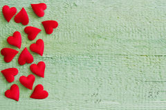 Red small valentine Royalty Free Stock Photo