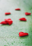 Red small valentine Royalty Free Stock Photography