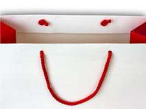 Red smile Stock Image