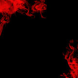 Red Smoke stock image