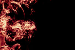 Red Smoke abstract background Royalty Free Stock Images
