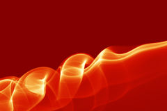Red smoke background Stock Images
