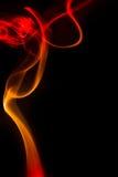 Red smoke Stock Photos