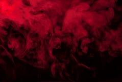 Red smoke or black vapor for wallpaper stock photos