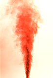 Red smoke Stock Images