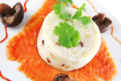 Red smoked salmon Royalty Free Stock Images