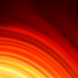 Red smooth twist light lines background. EPS 8 Royalty Free Stock Photo