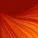 Red smooth twist light lines background. EPS 8 Stock Image