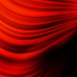 Red smooth twist light lines. EPS 10 Royalty Free Stock Images