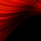 Red smooth twist light lines. EPS 10 Royalty Free Stock Image