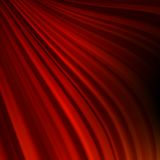 Red smooth twist light lines. EPS 10 Stock Photo