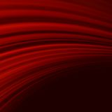 Red smooth twist light lines. EPS 10 Royalty Free Stock Photography