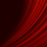 Red smooth twist light lines. EPS 10 Stock Photos