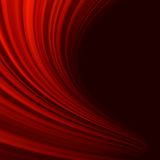 Red smooth twist light lines. EPS 10 Stock Images