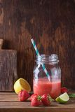 Red smoothie Royalty Free Stock Photography