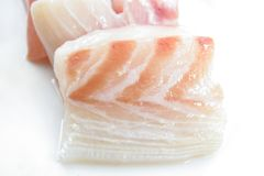 Red snapper fish meat Stock Photo