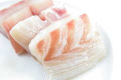 Red snapper fish meat Stock Photography