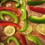 Red snapper. My meal preparations for Sunday dinner Royalty Free Stock Images