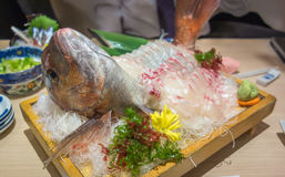 Red snapper sashimi royalty free stock images