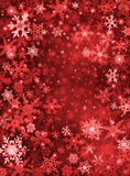 Red Snow Background Stock Photos