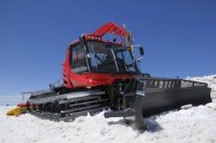 Red snowcat Stock Image