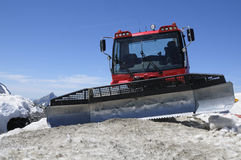 Red snowcat Stock Photos